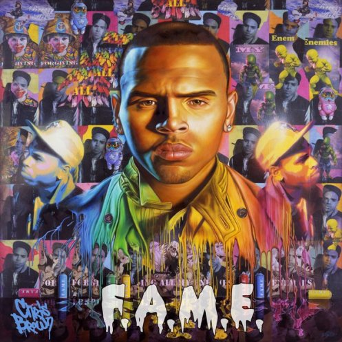 Chris Brown Fame Songs on Chris Brown    F A M E    Art Cover Revealed    Msmusiclover99 S Blog